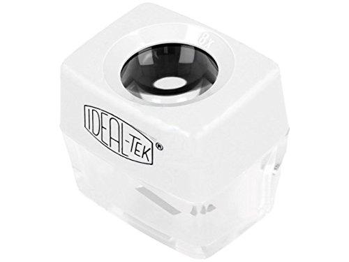 IDL-818.01 Desk magnifier Mag x8 Lens diam24mm Mat plastic 818.01 IDEAL-TEK (Mag Mat)