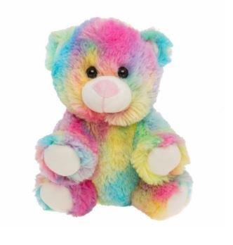 Stuffems Toy Shop Kuschelige 8-Zoll-Stuffed Regenbogen Bear.We Sachen 'em.You lieben' em! (Bär Braun Gund Teddy)