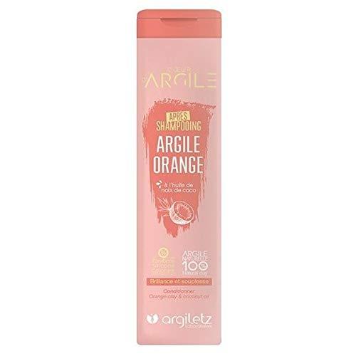 Argiletz Coeur d'Argile Après Shampooing Argile Orange 200 ml