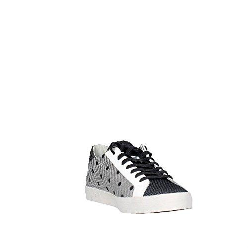 D.a.t.e. HILL LOW-11 Sneakers Damen Weiss/Schwarz