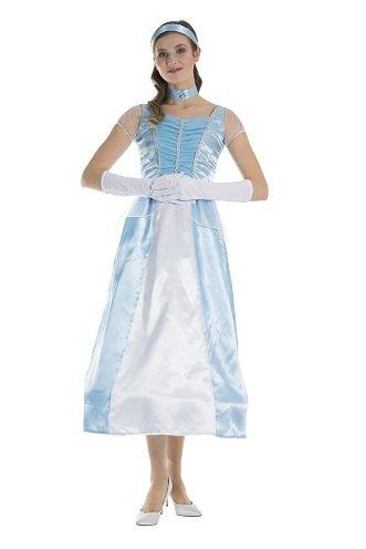 (Monster Cinderella Damen Kostüm Größe S Märchenkleid 50055 Karneval Prinzessin)