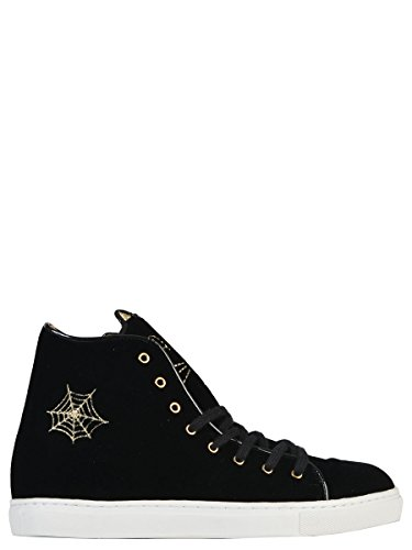 charlotte-olympia-womens-v0094461-black-leather-hi-top-sneakers
