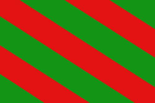 magFlags Flagge: XL Belgischen Gemeinde Aubange | Querformat Fahne | 2.16m² | 120x180cm » Fahne 100% Made in Germany