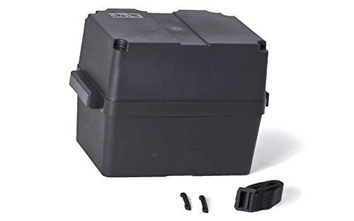 wellenshop Batteriebox mit Deckel bis 100 Ah 370 x 225 x 255 mm (Boot-box)