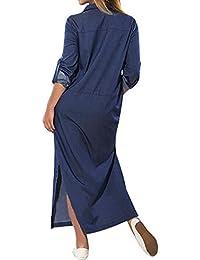 0988f468d51a4 Amazon.it  abiti donna eleganti - Chemisier   Vestiti   Donna  Abbigliamento