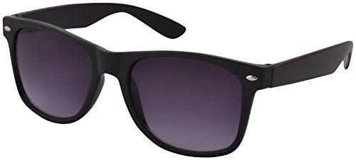 Shvas Wayfarer Unisex Sunglasses (SG001|Black)