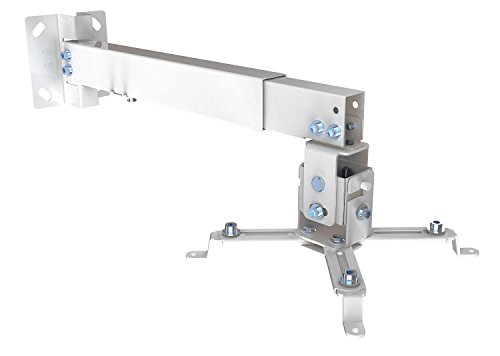 d/Deckenhalterung für Beamer & Projektoren (Beamer Halterung / weiß) (Weiß Projektor)