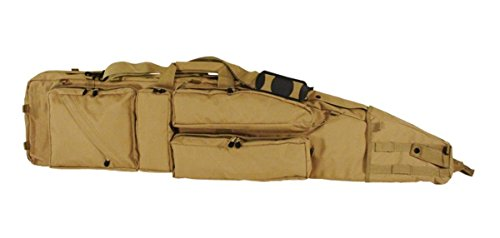 "Voodoo Tactical Ultimate Drag Bag 51"" (Coyote) Sniper Waffentasche Funda rifle gun case Gewehrtasche"