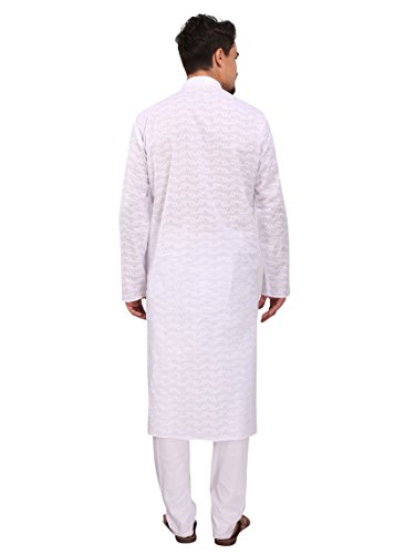 Rajubhai-Hargovindas-Mens-Cotton-Chikan-Embroidered-Kurta