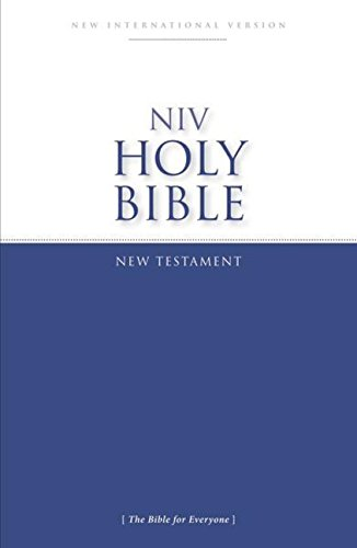 NIV, Holy Bible New Testament, Paperback: The Bible for Everyone por Zondervan