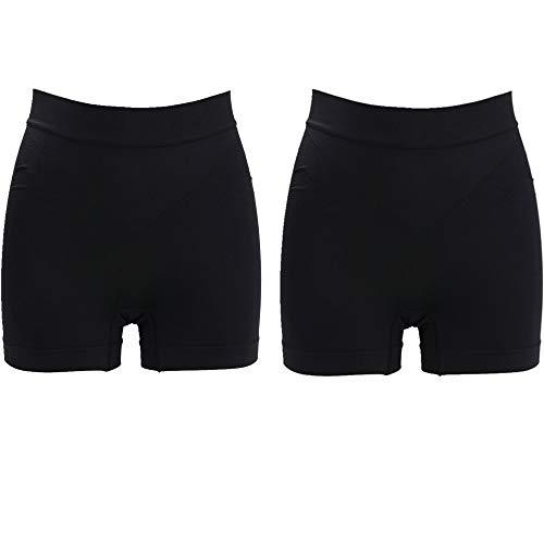 Jzy Qzn Damen Mieder String Slip Panty Bauch Weg Tanga Thong Dehnbare Shapewear Nahtlose Unterhose Unterwäsche Hohe Taille -