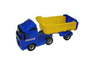 Polesie 8749 vehículo de Juguete - Vehículos de Juguete (Negro, Naranja, Camión, 190 mm, 59 cm, 250 mm, 190 mm)