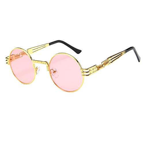 Pingtr - Sonnenbrillen,Unisex Vintage Retro Brille Unisex Big Frame Sonnenbrillen Brillen