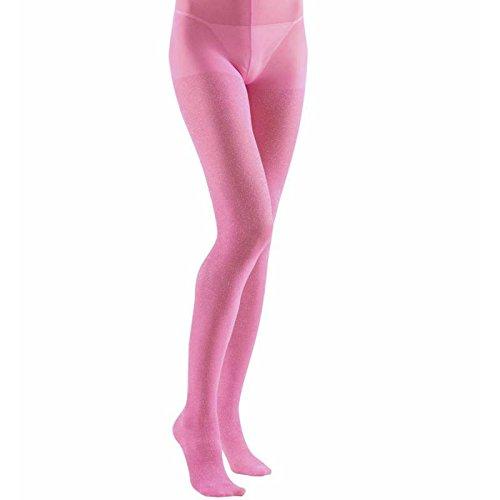 Widmann-WDM2090P Erwachsenenkostüm für Damen, Rosa, Universal, - Rosa Glitter Kostüm Strumpfhosen