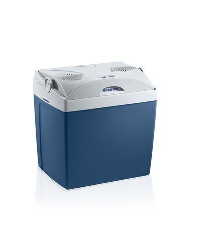 Preisvergleich Produktbild Mobicool V26, tragbare thermo-elektrische Kühlbox, 25 Liter, 12 V und 230 V für Auto, Lkw und Steckdose, Blaumetallic, Energieklasse A++
