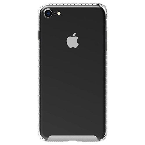 Mobiltelefonhülle - Baseus für iPhone 7 Verteidigung Case Full Coverage Shockproof transparente weiche TPU Schutzmaßnahmen zurück Fall ( Farbe : Transparent ) Transparent