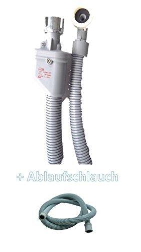 Aquastop Schlauch/Aquastop/Sicherheitszulaufschlauch für Waschmaschine und Geschirrspüler 3,0 m + Aktion mit Ablaufschlauch 3,0 m