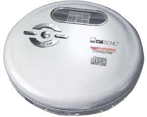 Clatronic CDP 603 Tragbarer CD-Player Silber