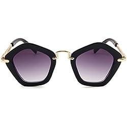 CoFash 3 Pack trendy Gradient Lens Kids Sonnenbrille Unisex UV Schutz Kind PC Rahmen Metall Tempel Eyewear für jungen Mädchen ideales Geschenk, 6 Farben , 1