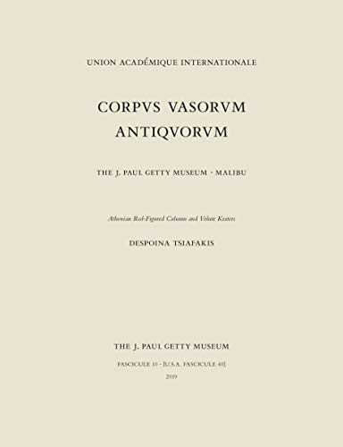 Corpus Vasorum Antiquorum, Fascicule 10: Athenian Red-Figure Column and Volute Kraters (English Edition)