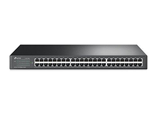 Price comparison product image TP-Link TL-SF1048 48-Port 10 / 100Mbps Unmanaged Ethernet Switch,  19-inch Rack-Mount,  Steel Case,  Lifetime Warranty
