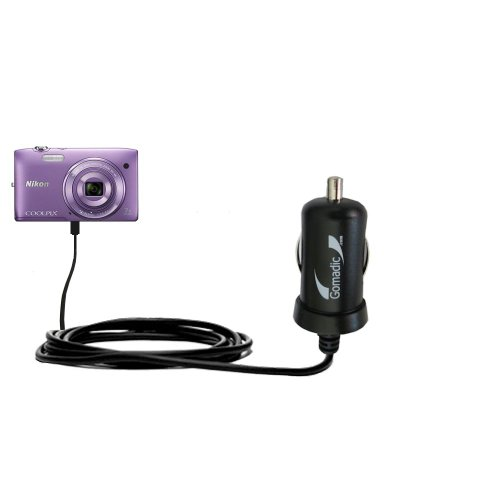 mini-10w-car-auto-dc-charger-designed-for-the-nikon-coolpix-s3500-with-gomadic-brand-power-sleep-tec