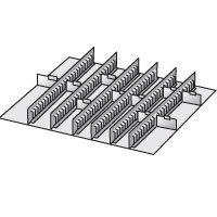 Riffelgummi-Auflage, schwarz, 1023 x 725 mm