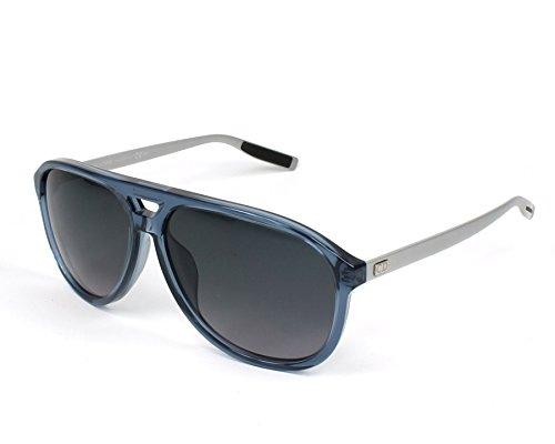 Dior Homme Blacktie 176s Cut Blue / Palladium / Grey Gradient Kunststoffgestell Sonnenbrillen