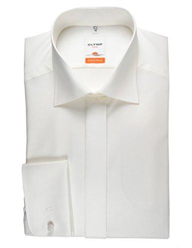 Olymp Hemd Gala beige, Einfarbig Beige