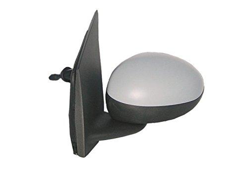 Alkar 6101857 Retroviseur complet, mécanique, convex, à peindre,