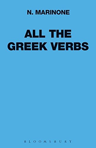 All the Greek Verbs (Greek Language) por N. Marinone