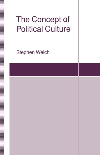The Concept of Political Culture (St Antony's)