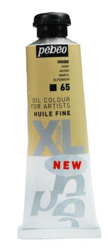 Pebeo Studio XL - Tubetto di colore ad olio fine, 37 ml, colore: Bianco (Luminoso Smalto Di Colore)
