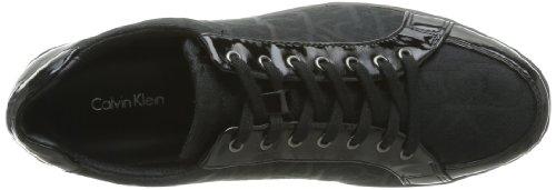Calvin Klein Tammy, Baskets mode femme Noir (Bbk)