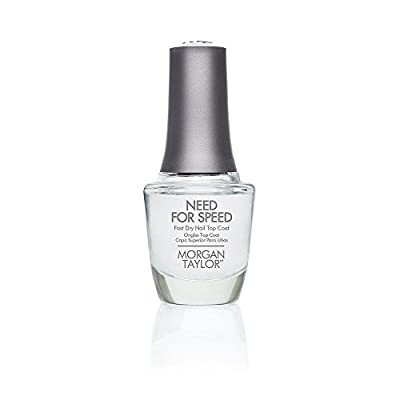 Morgan Taylor – Need For Speed Fast Dry Top Coat