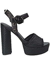 ccdd1333fb04 FeiliandaJJ Sandaletten Damen mit Absatz Elegant Sommer Sandalen mit ...