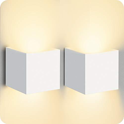2 * 12W Lámpara pared blanco cálido moderno