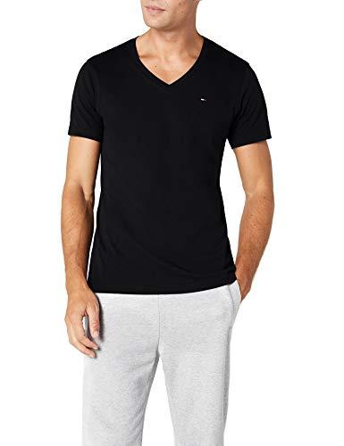 riginal V-Neck Kurzarm Regular Fit T-Shirt Schwarz (TOMMY BLACK 078) Gr. M ()