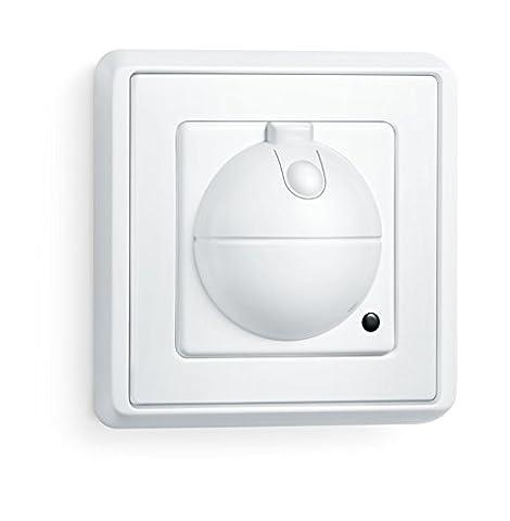 Steinel Sensorschalter HF 360 UP (Unterputz), 360° Hochfrequenz-Bewegungsmelder mit max. 8 m Reichweite, schaltet verzögerungsfrei Licht an, ideal für Treppenhaus, Diele und Bad,