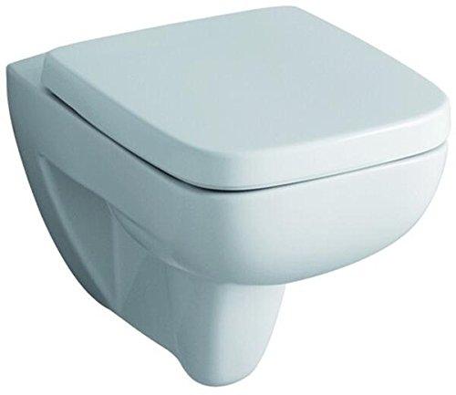 Preisvergleich Produktbild Keramag 572110000 WC-Sitz Renova Nr. 1 Plan, mit Deckel Scharniere: Edelstahl, weiß