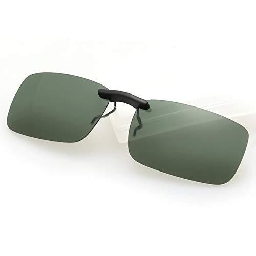 JYTDSA Man Women Polarized Day Night Vision Clip-on LensGlasses Sunglasses