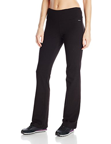 Spandex-stretch-lounge-hose (Jockey Women's Activewear Cotton Stretch Bootleg Pant , black, XL)