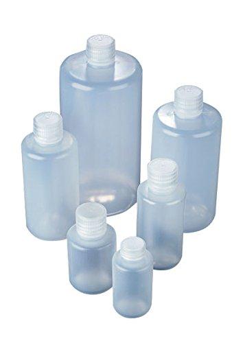 Azlon BNL0150PN Enghals-Flasche aus Kunststoff, mit Schraubdeckel aus Polypropylen, LDPE, 150ml, 10Stück