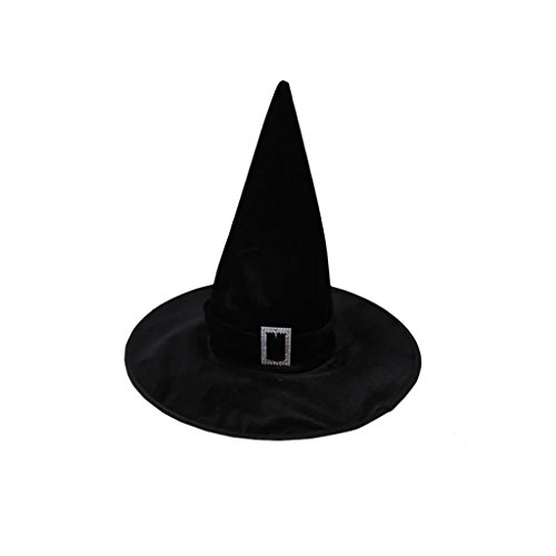 -Halloween-Kostüm Verkauf Hexenhut Für Abendkleid Der Partei - Schwarz (Verkauf Halloween-kostüm)