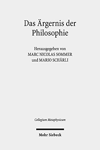 Das Ärgernis der Philosophie: Metaphysik in Adornos Negativer Dialektik (Collegium Metaphysicum)