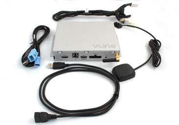 Lexus Toyota 2006-2009 GROM Système d'information multimédia VLine Mise à niveau du système, interface vidéo, version 2 (VL2) LEX5, CarPlay automatique avec Android
