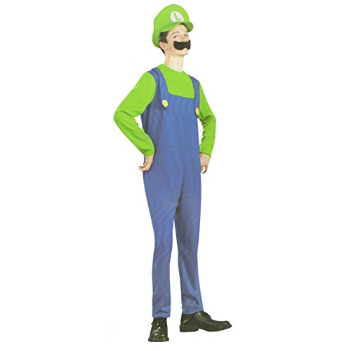 Luigi from Super Mario Boys Fancy Dress Costume Age 10-12 Years  sc 1 st  Amazon UK : luigi costume for kids  - Germanpascual.Com