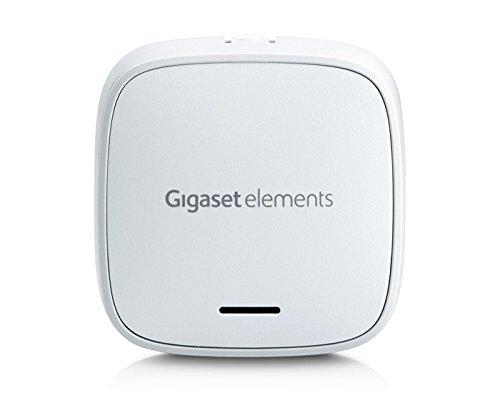 Gigaset Türsensor/elements door/Smart Home Tür Alarm ergänzt elements alarm systeme/kompatibel mit Alexa/App Steuerung, weiß
