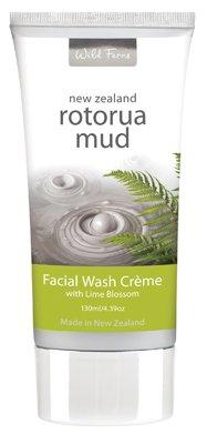 Wild Ferns Rotorua Mud Facial Wash 130ml x 1 [Personal Care] - Mineral Care Schlamm
