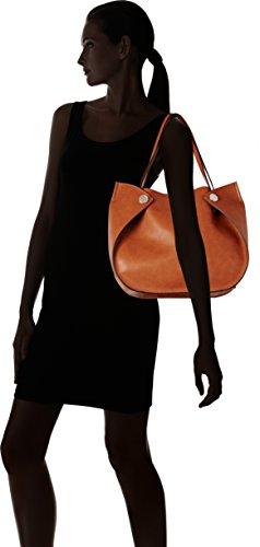 Indovina Damen Hwvg6783230 Shopper, 13x22.5x28.5 Cm Braun (cognac)